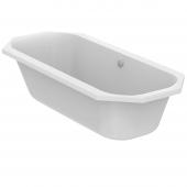 Ideal Standard Tonic II - Achteck-Badewanne mit Ablauf und Füller 1800 x 800 x 480 mm weiß