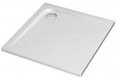 Ideal Standard Ultra Flat - Bac à douche rectangulaire ultra plat en acrylique sanitaire de 900 mm sans antidérapant