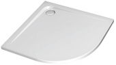 Ideal Standard Ultra Flat - Quart de cercle receveur de douche 1000 mm