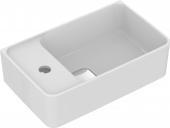 Ideal Standard Strada II - Handwaschbecken Version links 450 x 270 x 170 mm weiß mit IdealPlus