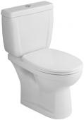 Villeroy & Boch O.novo - Abattant WC sans fermeturre amortie & avec charnière bouloné blanc