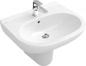 Villeroy & Boch O.novo - Waschtisch 650 x 510 mm mit Überlauf weiß