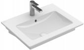 Villeroy & Boch Venticello - Waschtisch 650 x 500 mm Überlauf stone white mit CeramicPlus