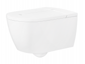 Villeroy & Boch ViClean - Dusch-WC Set ohne Spülrand weiß mit CeramicPlus