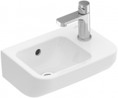Villeroy & Boch Architectura - Handwaschbecken 360 x 260 mm mit Überlauf weiß alpin C+