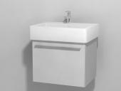 Duravit X-Large - Waschtischunterbau wandhängend Weiß Hochglanz Lack 550 mm