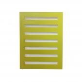 Zehnder Metropolitan - Heizwand 805 x 600 mm rifra spring green