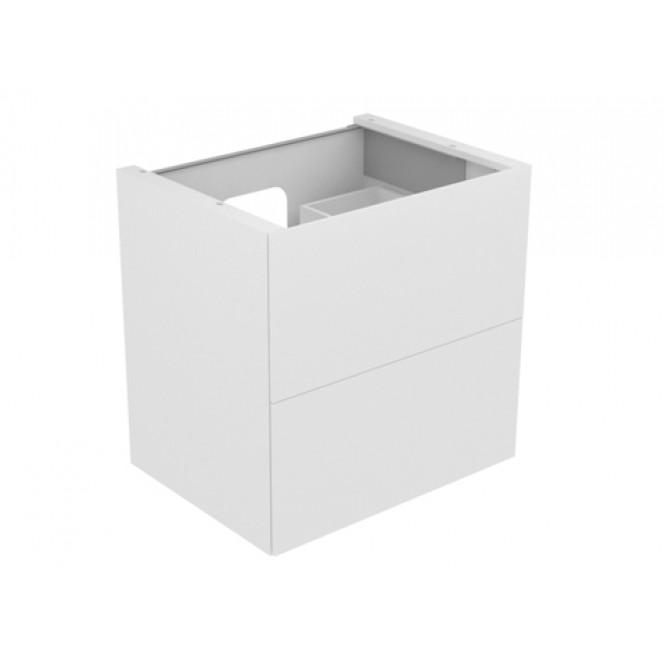 Keuco Edition 11 - Waschtischunterbau 700 mm mit LED-Innenbeleuchtung trüffel