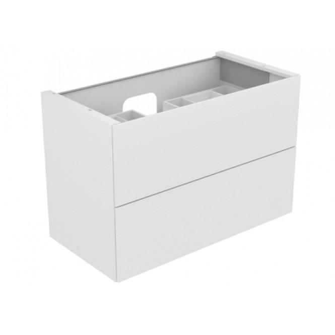 Keuco Edition 11 - Waschtischunterbau 1050 mm mit LED-Innenbeleuchtung trüffel