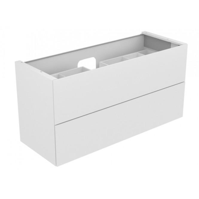 Keuco Edition 11 - Waschtischunterbau 1400 mm mit LED-Innenbeleuchtung weiß