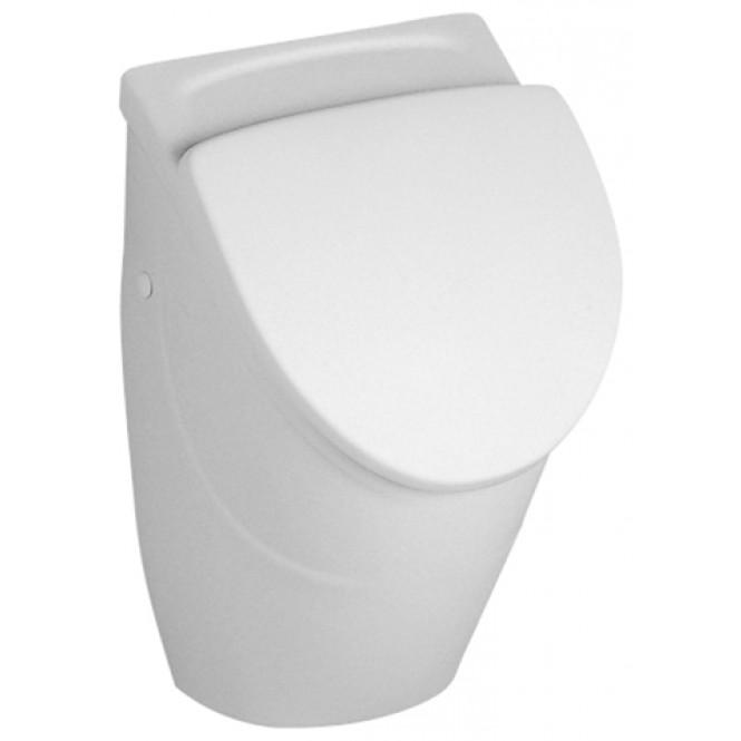 Villeroy & Boch O.novo - Urinal-Deckel compact weiß alpin verchromt