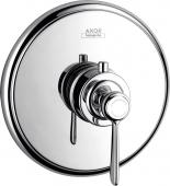 Axor Montreux - Thermostat Unterputz Fertigset Hebelgriff chrom