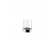 Emco Flow - Glashalter Glasteil satiniert chrom