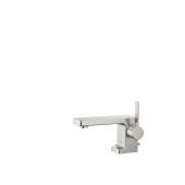 Dornbracht Lulu - Einhebel-Waschtischarmatur XS-Size mit Zugstangen-Ablaufgarnitur platin matt