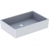 Geberit Publica - Spülstein ohne Überlauf 500 x 140 x 400 mm weiß