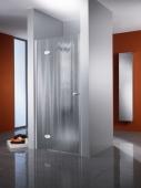 HSK Premium Classic - Drehtür Nische 41 chromoptik 900 x 2000 mm 100 Glasmattierung