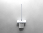 Dornbracht Lulu - WC-Bürstengarnitur platin matt