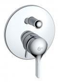 Ideal Standard Melange - Unterputz-Einhebel-Wannenarmatur für 2 Verbraucher chrom