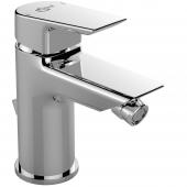 Ideal Standard Tesi - Bidetaramtur mit Ablaufgarnitur Ausladung 95 mm chrom