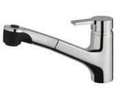 Ideal Standard Active - Einhebel-Küchenarmatur mit herausziehbarer Spülbrause chrom