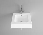 Bette BetteAqua - Aufsatzwaschtisch 530 x 530 x 140 mm mit Bohrung  weiß