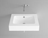 Bette BetteAqua - Aufsatzwaschtisch 700 x 530 x 140 mm ohne Bohrung  weiß