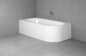 Bette Lux Oval IV Silhouette - Sonderform Badewanne 1750 x 800 mm weiß
