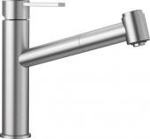 Blanco Ambis-S - Küchenarmatur metallische Oberfläche Niederdruck Edelstahl gebürstet