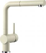 Blanco Linus-S - Küchenarmatur Silgranit-Look Hochdruck jasmin