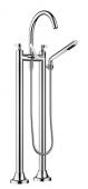 Dornbracht Vaia - Wannen-2-Lochbatterie platin matt