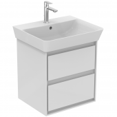 Ideal Standard Connect Air - Waschtisch-Unterschrank 480 x 409 x 517 mm weiß glänzend / matt