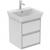 Ideal Standard Connect Air - Waschtisch-Unterschrank 430 x 402 x 517 mm weiß glänzend / matt