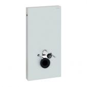 Geberit Monolith - Sanitärmodul für Wand-WC 1010 mm Glas weiß