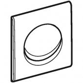 Geberit Samba - Betätigungsplatte zu Urinalsteuerung mit pneumatischer Spülauslösung weiß