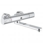 Grohe Eurosmart CE - Infrarot-Elektronik für Waschtisch-Wandarmatur mit Mischeinrichtung und Thermostat
