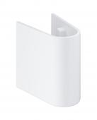 Grohe Euro Keramik - Halbsäule für Handwaschtischbecken weiß