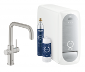 Grohe Blue Home - Starter Kit Bluetooth/WIFI U-Auslauf supersteel 1