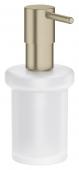 Grohe Essentials - Seifenspender für Halter / -Cube nickel gebürstet