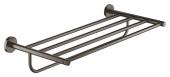 Grohe Essentials - Multi-Badetuchhalter 604 mm hard graphite gebürstet