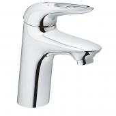Grohe Eurostyle - Einhand-Waschtischbatterie S-Size mit Push-open Ablaufgarnitur chrom