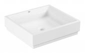 Grohe Cube - Aufsatzschale 500 mm PureGuard weiß