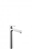 Hansgrohe Metris - Einhebel-Waschtischmischer 260 mit Zugstangen-Ablaufgarnitur für Waschschüsseln