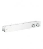 Hansgrohe ShowerTablet 600 - Thermostat 2 Verbraucher DN15 weiß / chrom