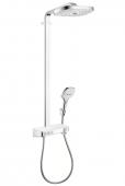 Hansgrohe Raindance - Select E 300 3jet ShowerTablet Showerpipe weiß / chrom
