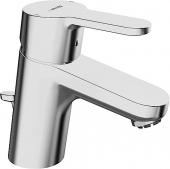HANSA HansaPrimo - Einhebel-Waschtischarmatur XS-Size mit Zugstangen-Ablaufgarnitur chrom