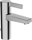 HANSA HansaLoft - Einhebel-Waschtischarmatur S-Size mit Zugstangen-Ablaufgarnitur chrom