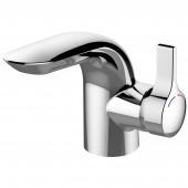 Ideal Standard Melange - Einhebel-Waschtischarmatur XS-Size mit Zugstangen-Ablaufgarnitur chrom