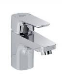 Ideal Standard CERAPLAN III - Einhebel-Waschtischarmatur 130 mit Zugstangen-Ablaufgarnitur chrom