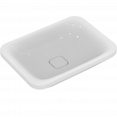 Ideal Standard Tonic II - Schale symmetrisch ohne Hahnloch ohne Überlauf 550 x 400 x 150 mm weiß