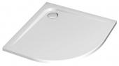Ideal Standard Ultra Flat - Viertelkreis-Brausewanne 800 mm